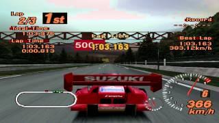 Gran Turismo 2 - Test Course - Suzuki Escudo Pikes peak version - ePSXe 1.7.0