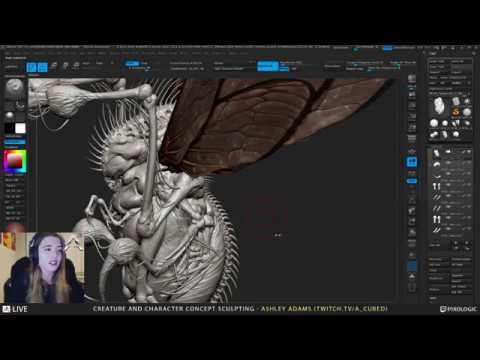 Ashley A. Adams  Creature & Character Concept Sculpting 1