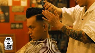 Baixar Low Skin Fade and Pompadour | Liem Barber Shop's Collection