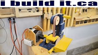 Adding A Motor To The Belt / Disk Sander