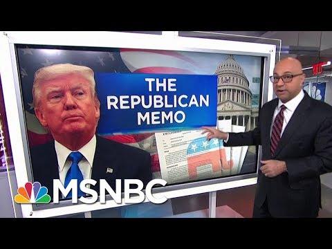 Here's How The Nunes Memo Undercuts President Donald Trump | Velshi & Ruhle | MSNBC