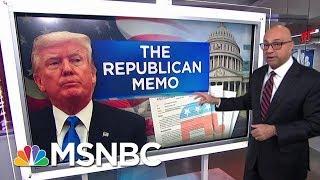 Here's How The Nunes Memo Undercuts President Donald Trump   Velshi & Ruhle   MSNBC