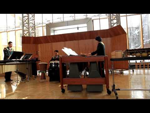 アフリカン・ブルース吹奏楽:陸上自衛隊第2音楽隊の演奏