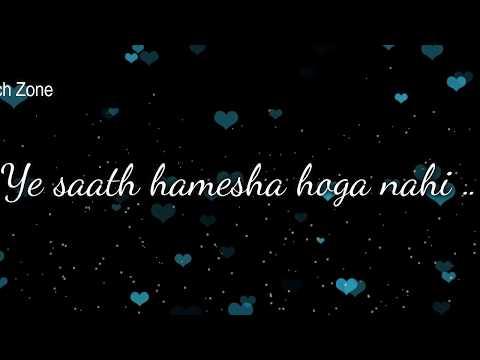 Main Phir Bhi Tumko Chahungi ❤ Female Version ❤ Love ❤ | WhatsApp Status Video 2017  || 30sec Video