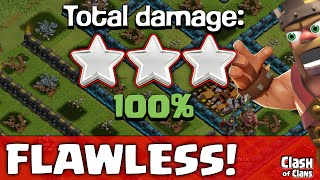 "Clash of Clans ""Flawless Attacks"" When Everything Goes Right in Clash ♦ CoC ♦"