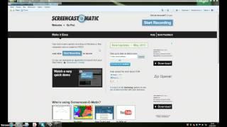 Как снять видео с экрана монитора без программ.(My Screencast., 2013-06-25T13:02:04.000Z)