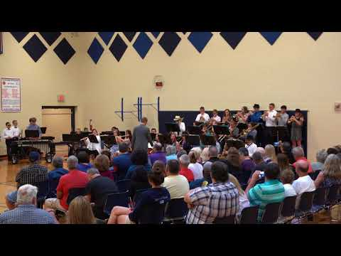 Jackson Middle School Jazz Band - Take the A Train