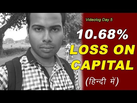 How I Did Multiple Wrong Trades and Lost 10.68% in Intraday Trading | Videolog Day 5
