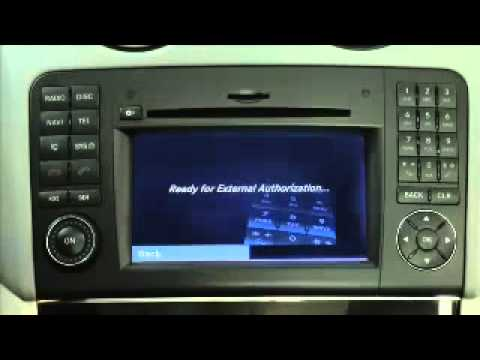 Bluetooth phone pairing sl g ml gl and r class youtube for Mercedes benz telephone
