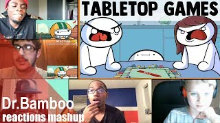 Tabletop Games by TheOdd1sOut REACTIONS MASHUP