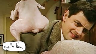 mr bean christmas turkey