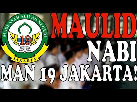 Maulid Nabi Muhammad SAW 2019 With MAN 19 Jakarta!