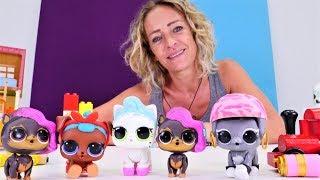 Zahlen lernen mit Nicole und den LOLs. Kinder Video auf Deutsch.