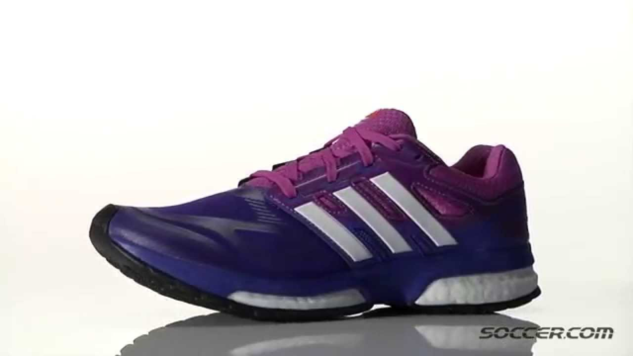 adidas response boost violet