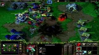 Warcraft 3 TFT страта против сильного компа