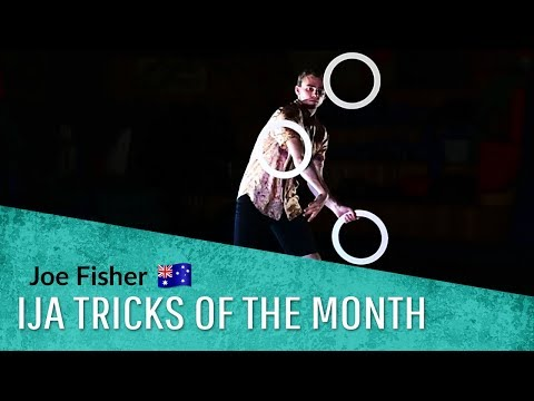 IJA Tricks of the Month by Joe Fisher of Australia | Juggling