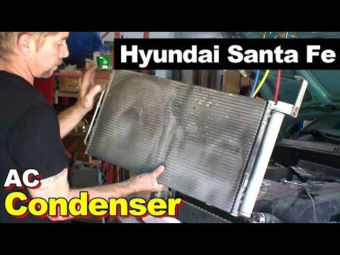 2003 Hyundai Santa Fe AC Condenser