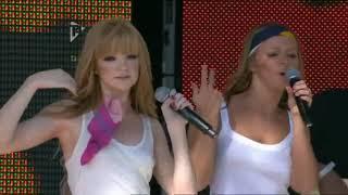 Girls Aloud  - Biology  - July 2007 - Nicola Roberts braless