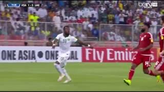 بالفيديو.. فهد المولد يهز شباك الإمارات بهدف عالمي