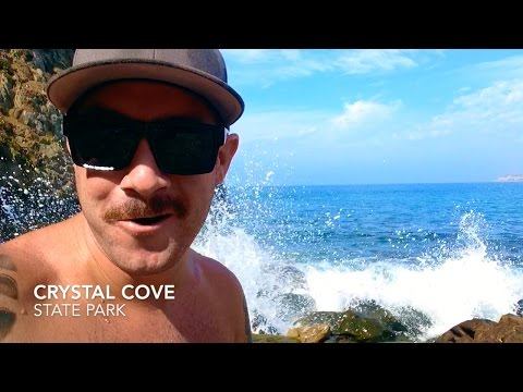 Exploring Crystal Cove State Park