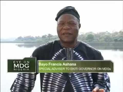 Eye on MDG - CGS In Ekiti State, South West Nigeria