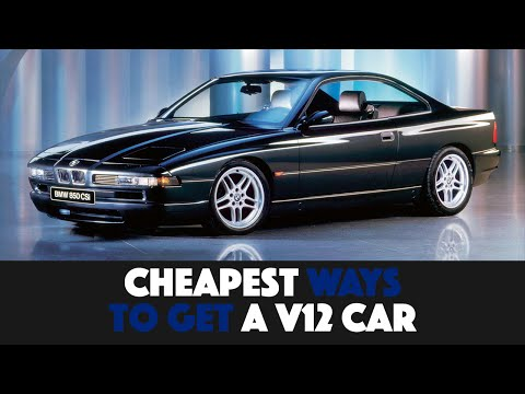 9 Cheapest Ways To Get A V12 Car