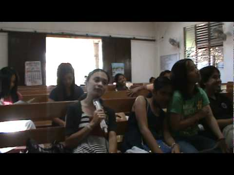 Pulupandan Evangelical Church videoke!!STARING LINBELLE!