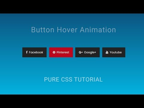 CSS button hover animation | Creative button Animation Effects