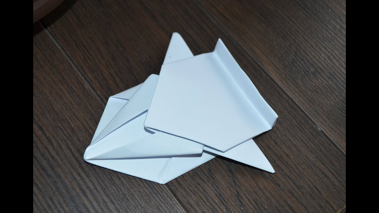 How To Make A Spaceship Out Of Piece Paper