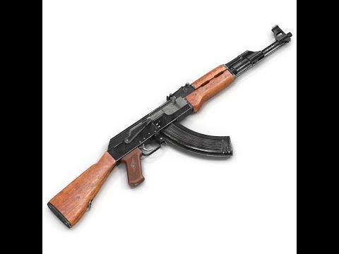 How to clean a rusted Gun AK 47     كيفية تنظيف كلاشنكوف من الصداء