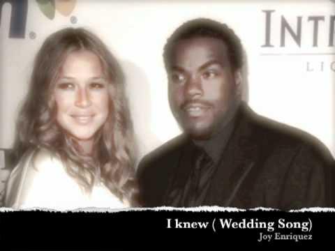 joy enriquez - i knew (wedding song)