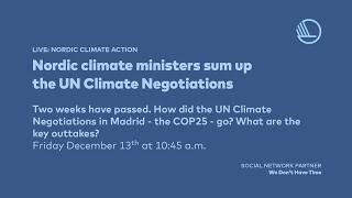 Un climate negotiations, december ...