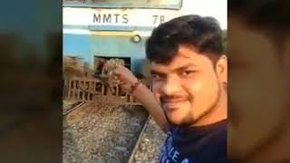 on-cam-man-gets-hit-by-train-while-taking-selfie-in-front-of-it