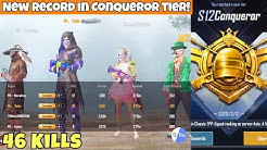 New Record In Conqueror Tier! Ft @Novaking,@JONATHAN GAMING,ICONIC | PUBG Mobile | Mr Spike
