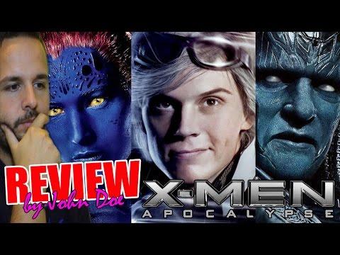 X-Men : Apocalipsis - CRÍTICA - REVIEW - HD - John Doe - Apocalypse - Bryan Singer