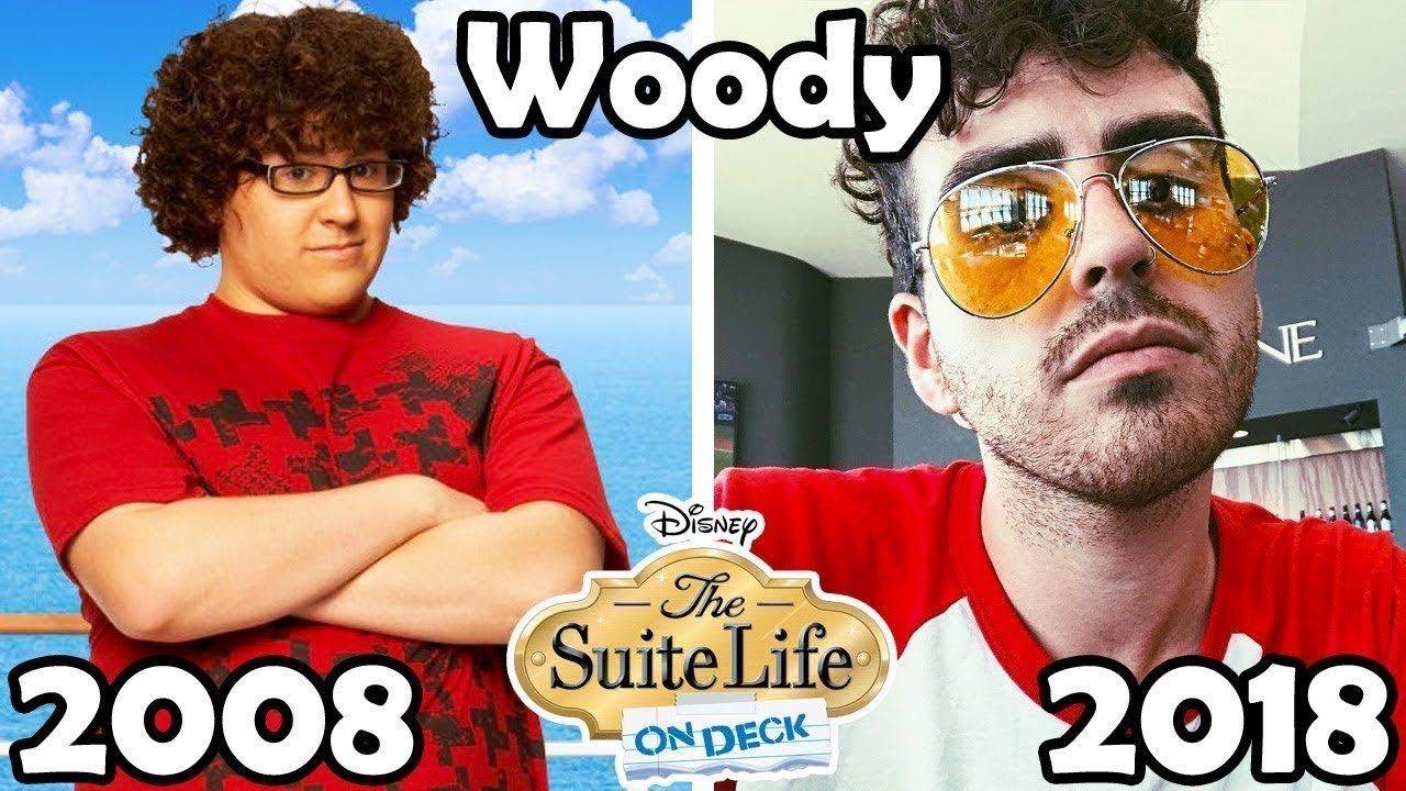 The Suite Life of Zack \u0026 Cody , Then and Now , 2018