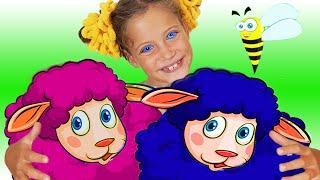 Черная овечка дашь ли ты нам шерсть | Песенки для детей от Ба Би Бу