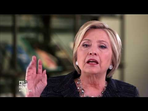Dissecting the election, Hillary Clinton sees dangers for democracy
