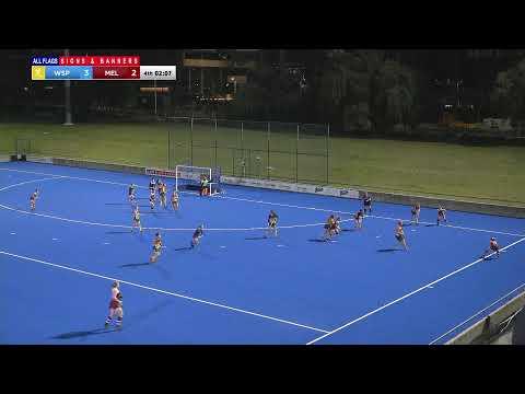 WASPs v Melville - All Flags Women's Premier League