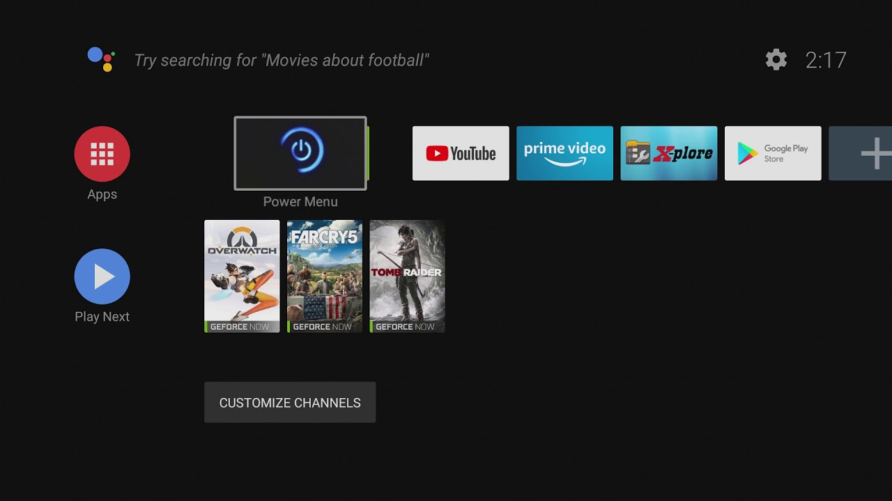 YouGamePlay com - Gameplay Videos - Power Menu (Root) for Oreo Shield TV