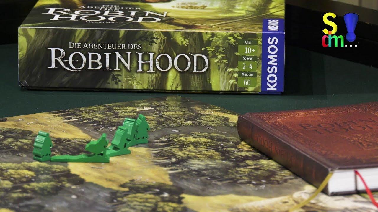Spiel doch mal DIE ABENTEUER DES ROBIN HOOD! - Brettspiel Rezension Meinung Test #364