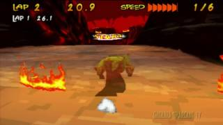 Running Wild (PS1) - Pyro Gameplay