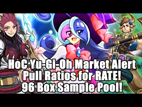 HoC Yu-Gi-Oh! Market Alert - Pull Ratios from 96 Boxes (2,304 Packs) Raging Tempest