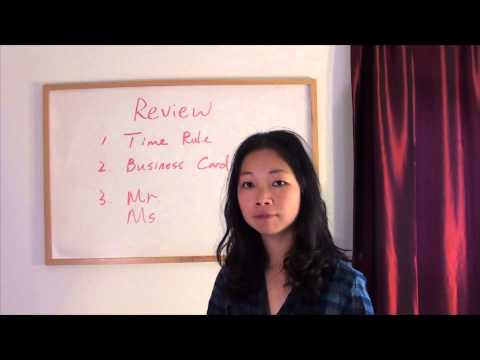 Friday Chinese Review and Practice