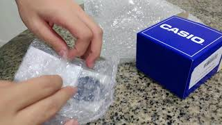 CASIO F-91W Classic Digital Watch Unboxing!