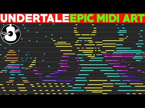 Undertale | EPIC Midi Art |