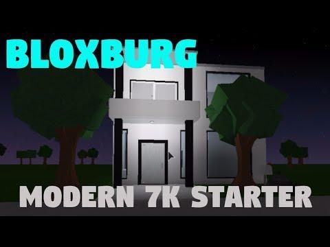 BLOXBURG || 7K BASIC STARTER HOUSE || SPEEDBUILD