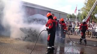 demo jeugdbrandweer Schinnen open dag brandweer Schinnen