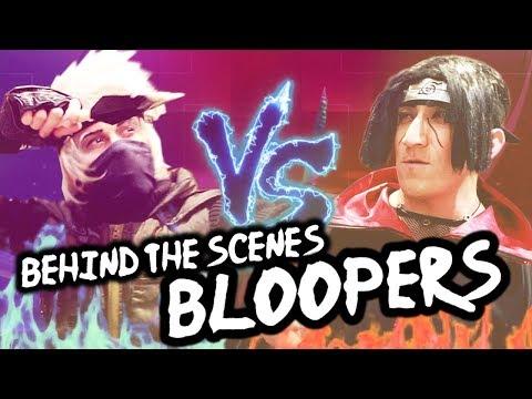 BLOOPERS - NARUTO FOOD BATTLE! - Cosplay Parody - 동영상