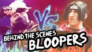 BLOOPERS / BTS - NARUTO FOOD BATTLE! - Cosplay Parody